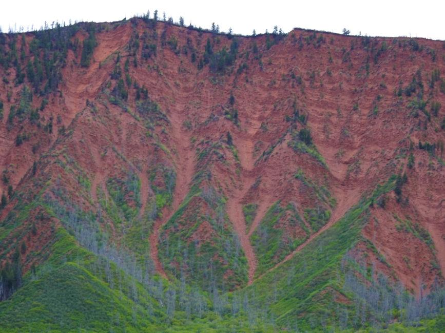 Colorado between Ouray and Avon