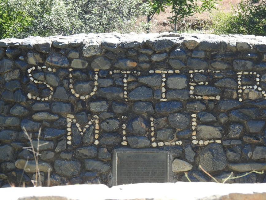 Sutter's Mill, the site of the CA gold rush in 1848