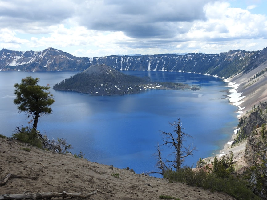 Crater Lake, OR - Sapphire Blue