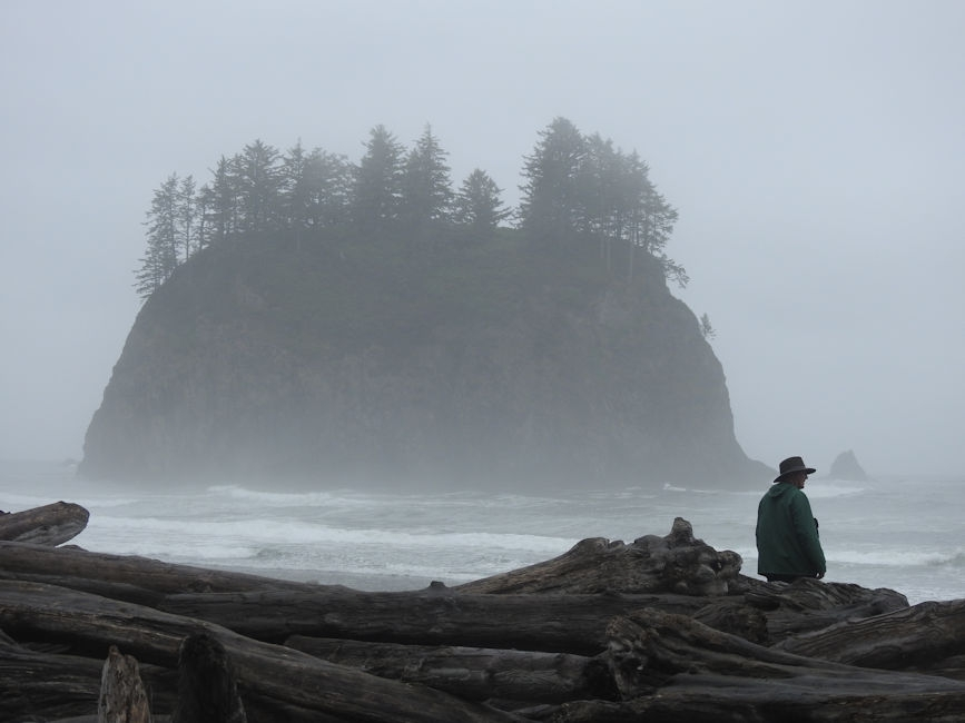 Second Beach hike, Olympic National Park